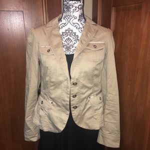 $bogo$ White House Black market military jacket 6